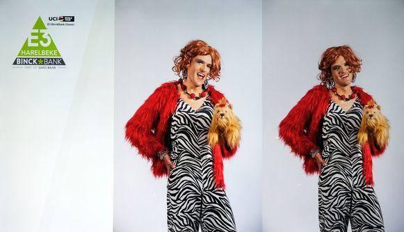 Greg Van Avermaet blijkt een hele mooie Carmen te zijn.