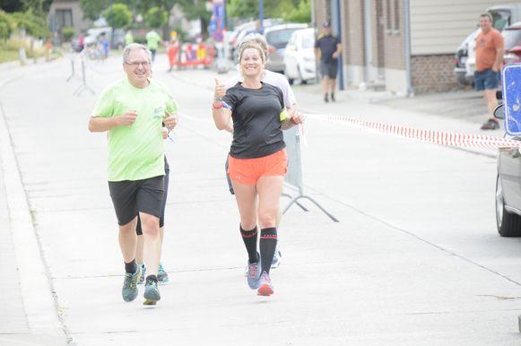 Marc Wijnants zet zijn sportieve beentje voor tijdens de Relax & Run.
