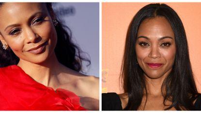 """Zoe Saldana over de gelijkenis met Thandie Newton: """"Zelfs mijn moeder denkt dat ik het ben in 'Westworld'"""""""