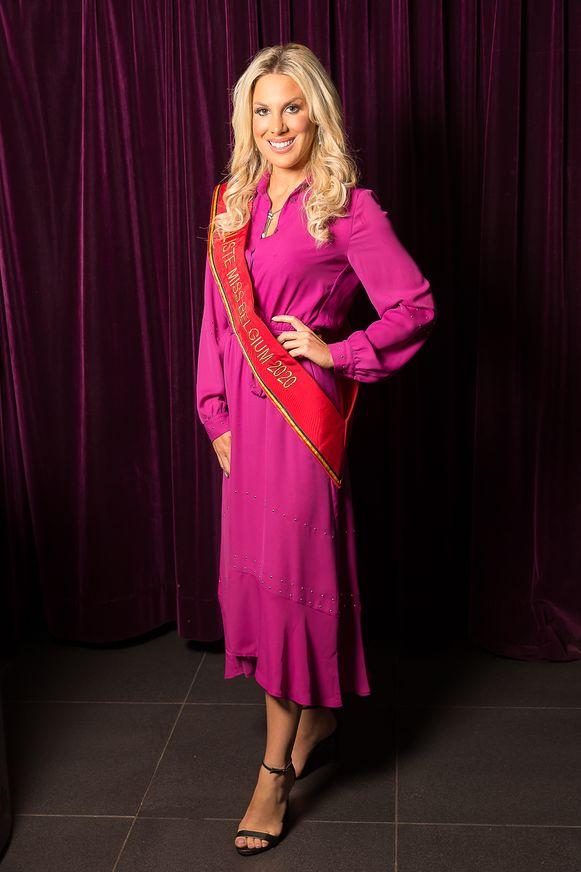 Vorige vrijdag kreeg Marieke het officiële lint dat aanduidt dat ze finaliste is in de verkiezing van Miss België 2020.