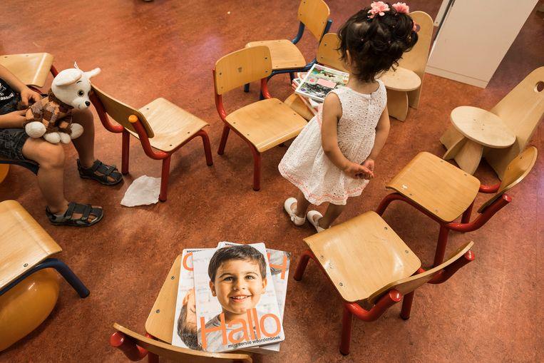 Traumatherapie voor azc-kinderen kan in gevaar komen. Beeld ANP