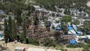 """""""Nieuwe brand in vluchtelingenkamp op Samos onder controle"""""""