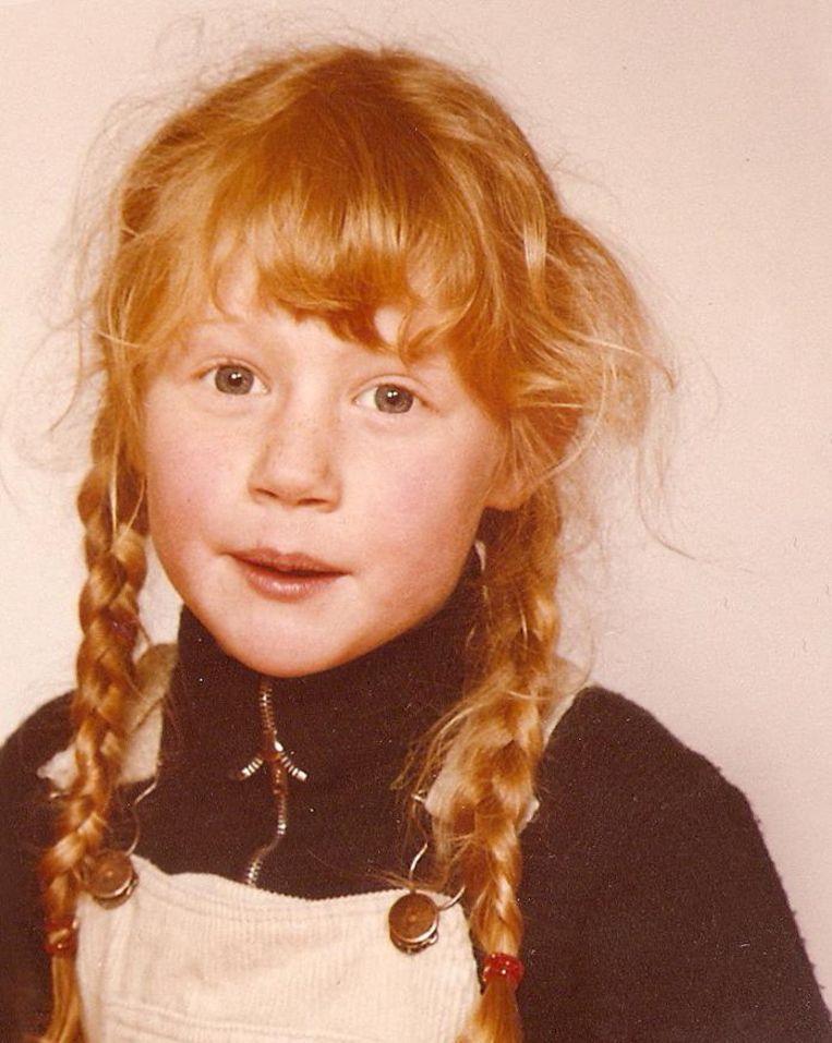 Een nog jonge Judith Sargentini Beeld -