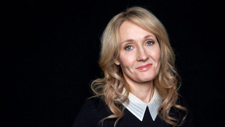 J.K. Rowling, de auteur van de Harry Potter-boeken. Beeld ap