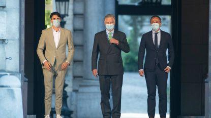Bilaterale gesprekken Rousseau en Lachaert afgelopen