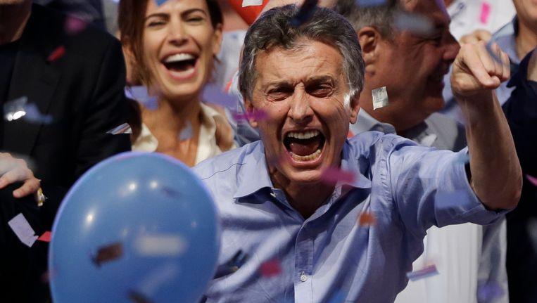 Mauricio Macri, de nieuwe president van Argentinië