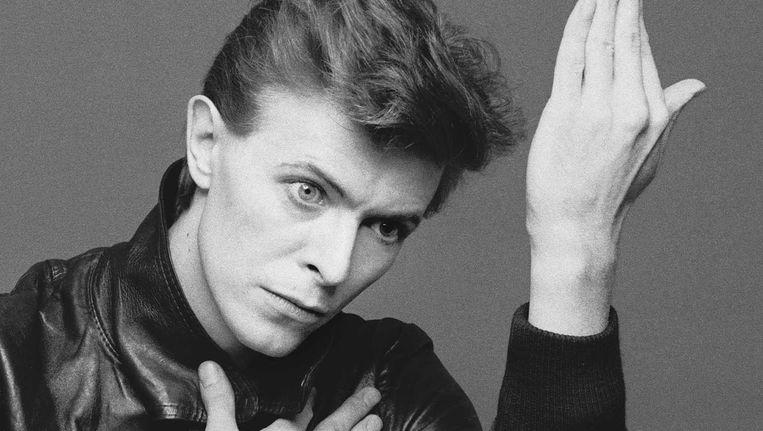 David Bowie op de albumhoes van Heroes, 1977. Beeld