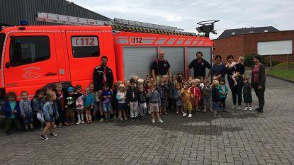 GBS De Vlindertuin bezoekt brandweer