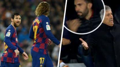 "Wrevel rond scheldende assistent in Clásico schetst de malaise bij FC Barcelona: ""Verdorie Griezmann!"""