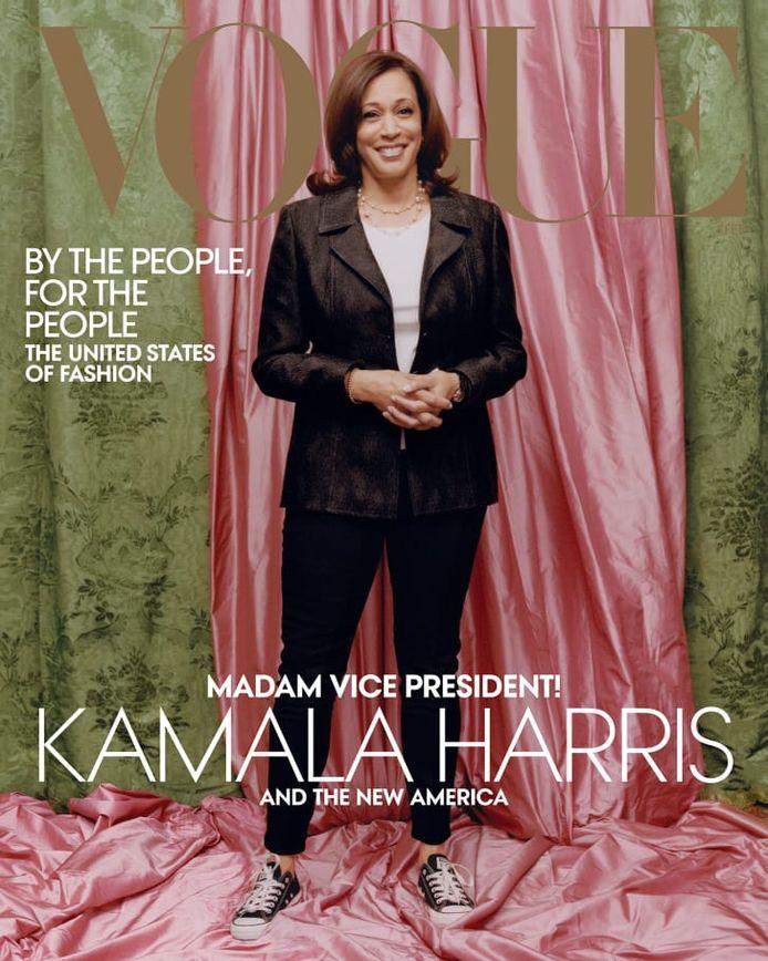 La photo choisie par Vogue pour sa couverture avec Kamala Harris fait débat.