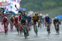 Sam Bennett won in 2018 de twaalfde etappe in de Giro d'Italia, waarvan de finish op het circuit van Imola lag.