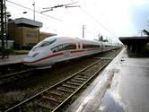 Het lijkt wel alsof deze trein naar Lourdes rijdt