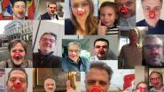 Alle 15 Hagelandse burgemeesters zetten rode neus op