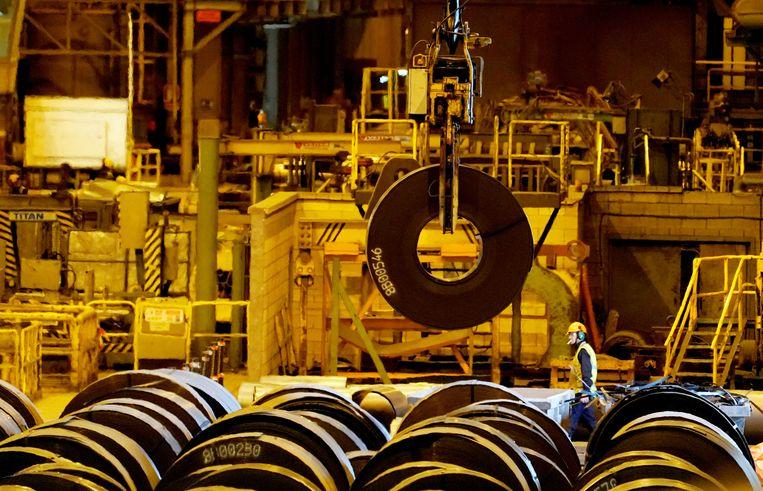 Een fabriek van ArcelorMittal in Spanje. Beeld REUTERS