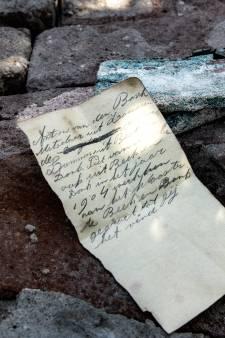 Briefje uit 1904 opgedoken bij werkzaamheden aan De Brabantse Kluis in Aarle-Rixtel