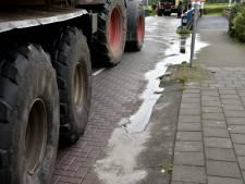 Olie op wegen in Raamsdonksveer en Geertruidenberg