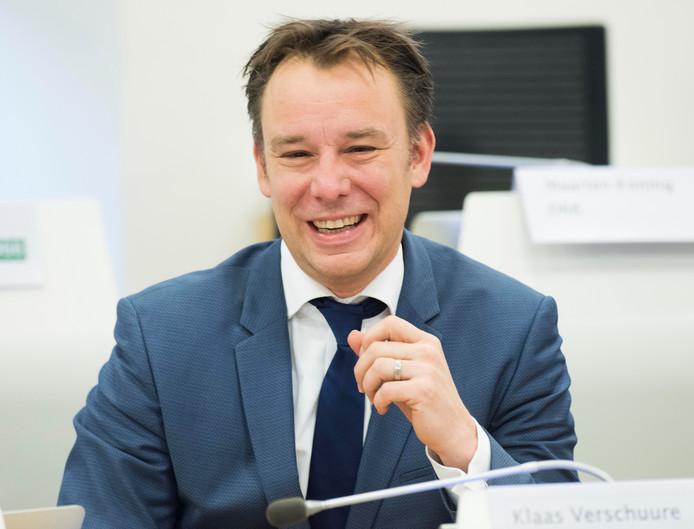 Wethouder Klaas Verschuure van Utrecht.