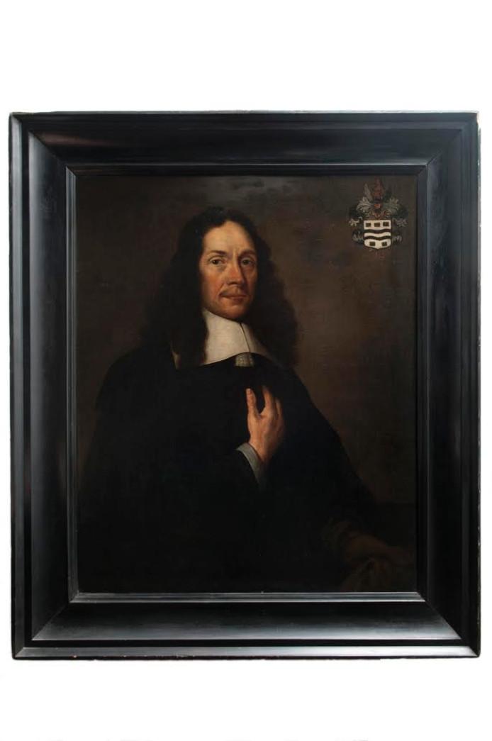 Portret van Marinus Stavenisse.