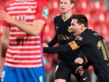 Barcelone en démonstration, Messi et Griezmann voient double
