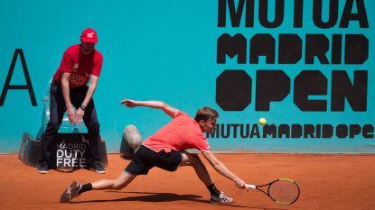 Goffin in Madrid voorbij Nederlander Haase en hij ontloopt Djokovic in achtste finale, Nadal simpel door