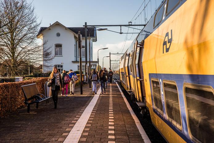 Station Krabbendijke op archiefbeeld.