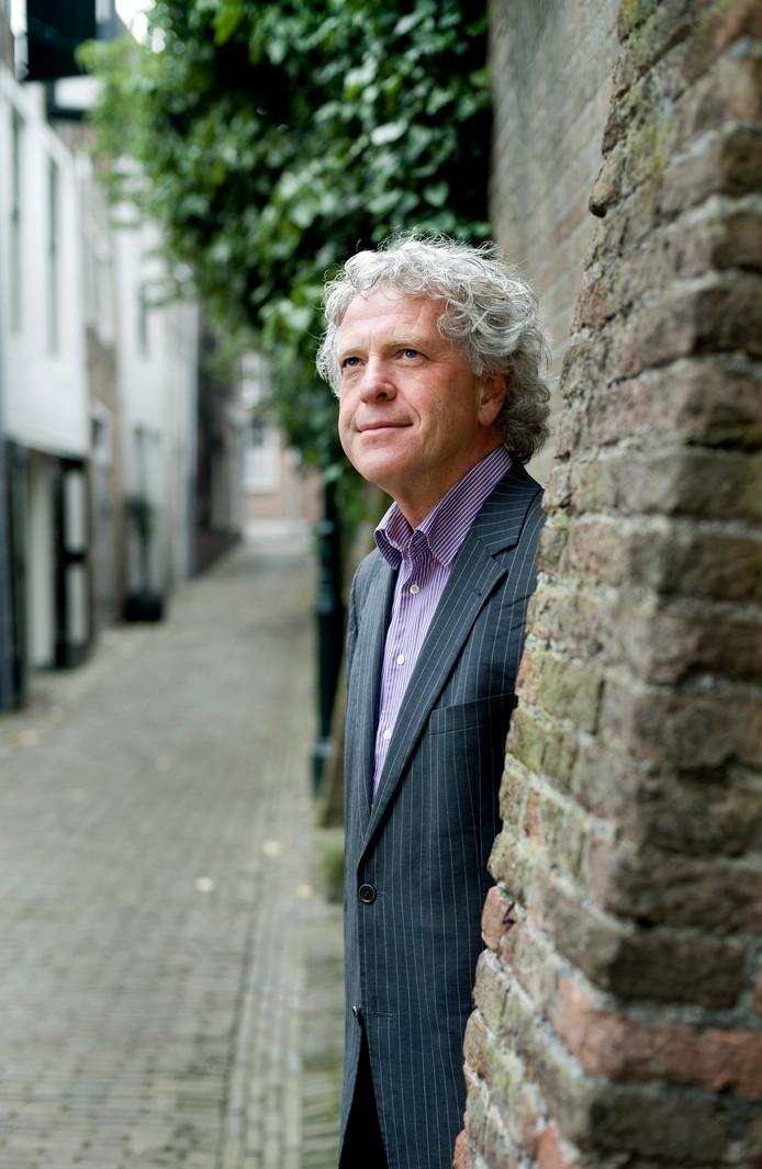 Pieter Ippel, mede-organisator van het Filosofisch Café Middelburg