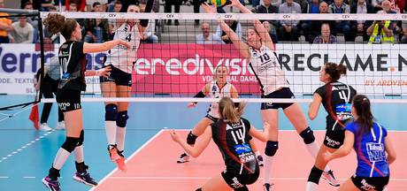 Volleybalsters Sliedrecht debuteren in CL met thuiszege