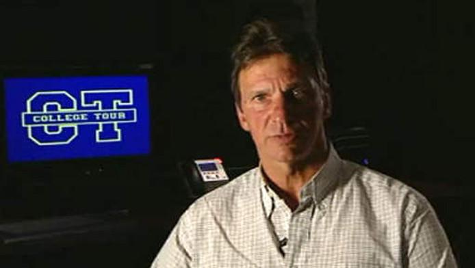 Willem Holleeder in een promotiefilmpje voor het programma