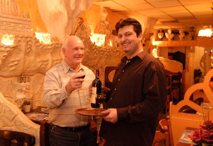 Archieffoto uit 2004 in Restaurant Delphi