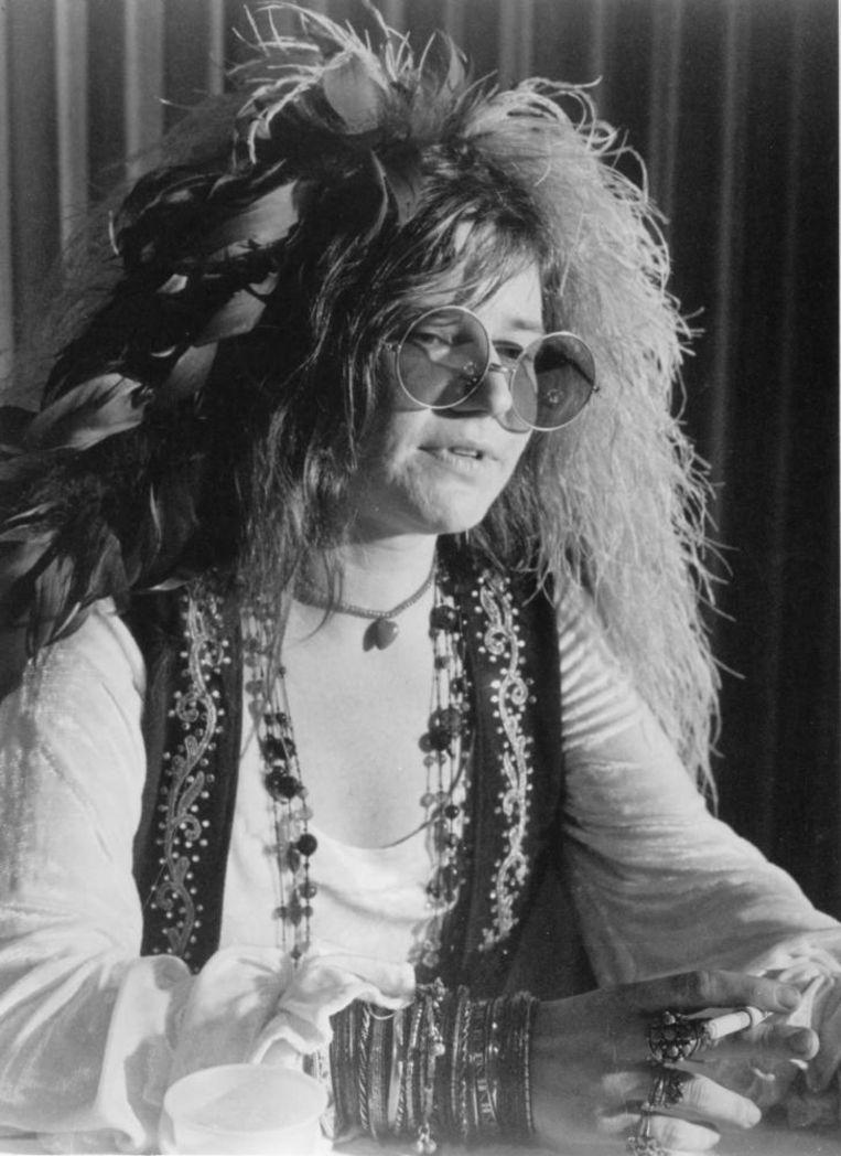 In de tijd dat Janis Joplin en cohorten de vrije liefde bezongen, was ook hun stijl onvervalst. Beeld Hollandse Hoogte