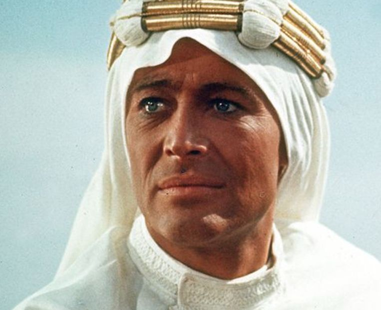 Peter O'Toole als 'Lawrence of Arabia'