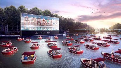 Parijs komt deze zomer met een drijf-incinema