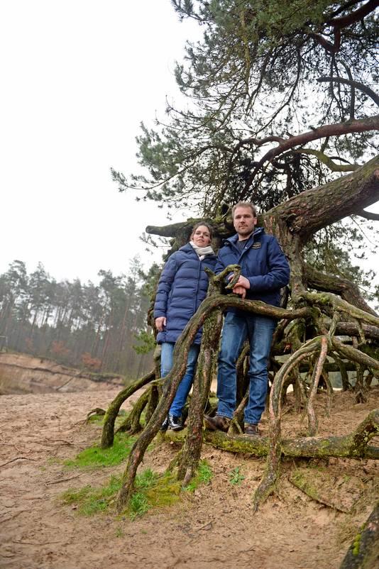 Boer Frans en zijn vrouw Leonie