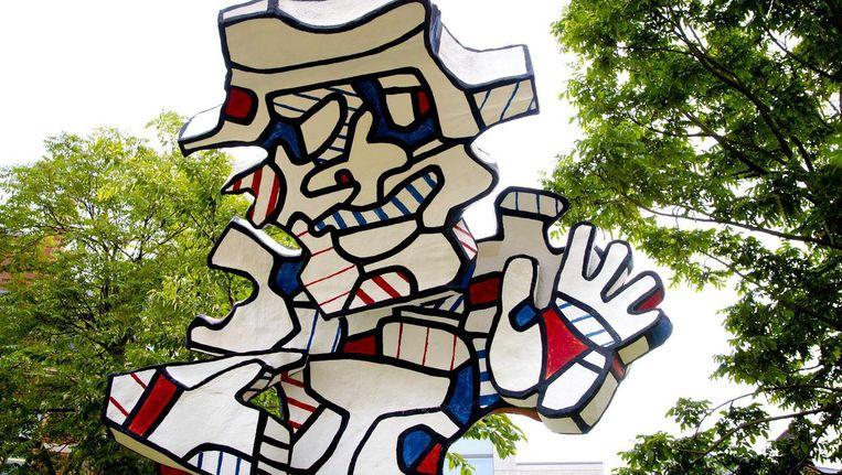 Het werk van de Franse kunstenaar Jean Dubuffet (1901-1985) is de komende maanden volop te zien in Amsterdam. Beeld anp
