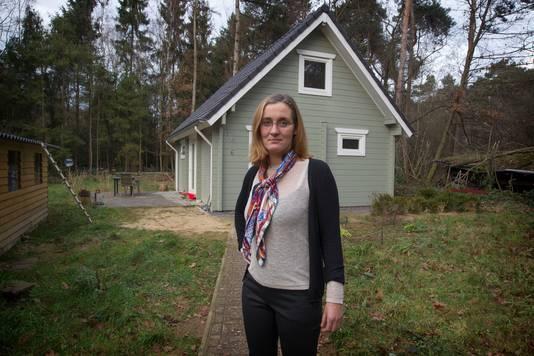 Martine Vriens de bossen van Knegsel.