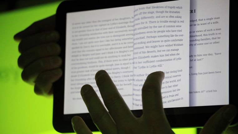 Rechters in New York hebben bepaald dat Google door mag gaan met zijn digitale boekenproject. Beeld reuters