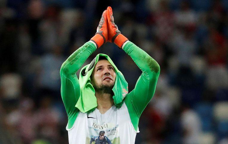 Danijel Subasic ontpopt zich tot de Kroatische held.