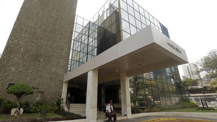 De juridische adviesfirma Massack Fonseca in Panama City. Beeld null