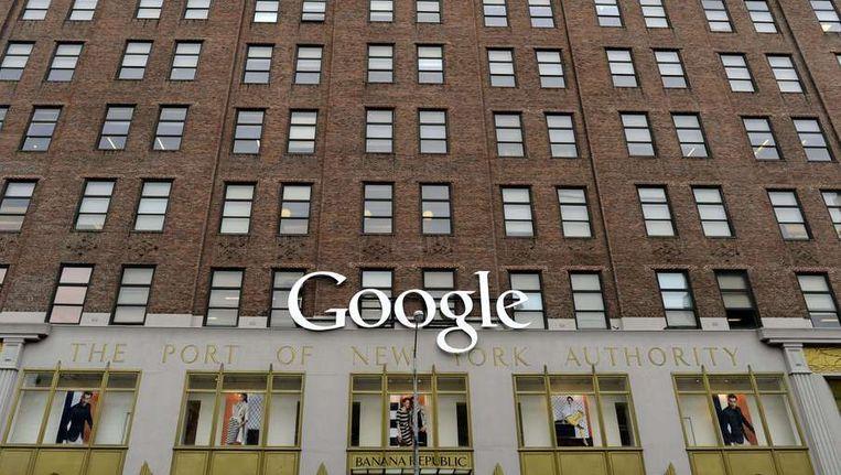 Het hoofdkantoor van Google in New York Beeld ANP