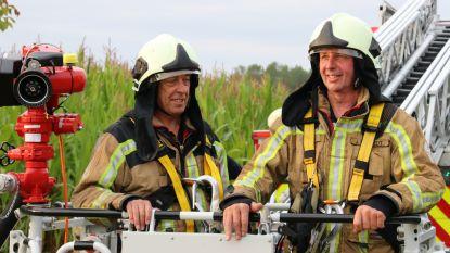 """Gerrit en Jos begonnen bijna 40 jaar geleden samen bij de brandweer en gaan nu ook samen met pensioen: """"Prachtige carrière gehad"""""""