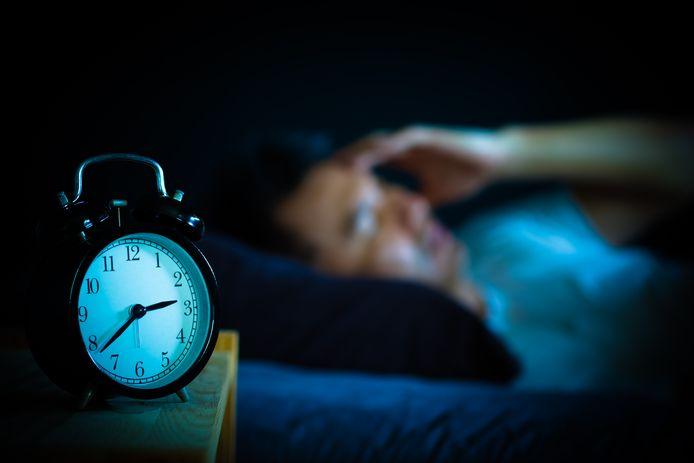 Foto ter illustratie. 'Huisman' Niek heeft een truc gevonden tegen slapeloosheid.