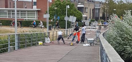 Houten knapt gevaarlijke fietsstrook op Rietplasbrug op