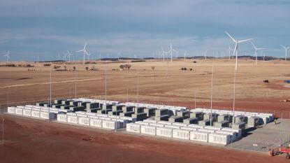 Nieuwe grootste batterij ter wereld zou record van Tesla verdriedubbelen
