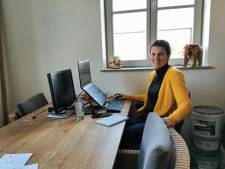 Corinne ontmoet haar nieuwe collega's online