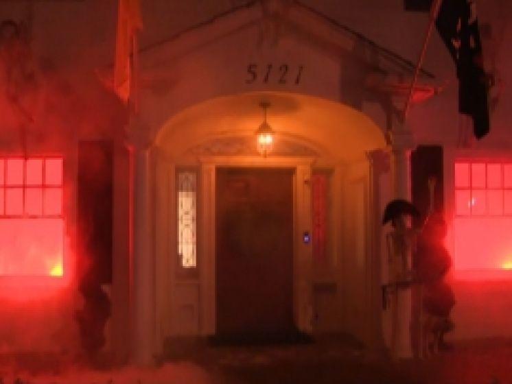 Les pompiers appelés à cause d'une décoration d'Halloween trop réaliste