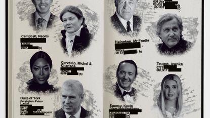 Ook Freddy Heineken en zijn dochter in boekje van Epstein