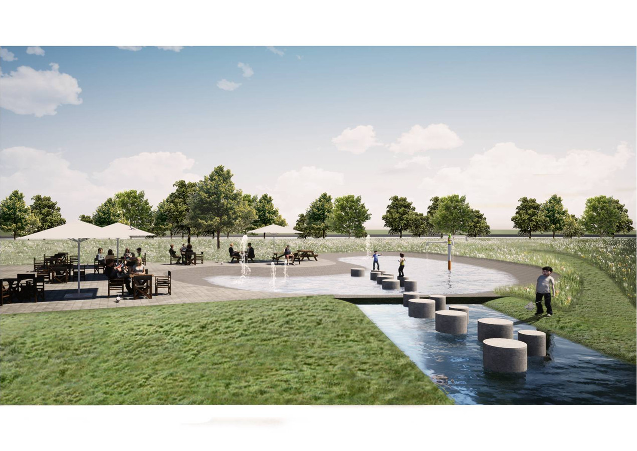 't Gulden Land tussen Aarle-Rixtel en Helmond moet er de komende jaren aantrekkelijker uit komen te zien. Als het aan de Laarbeekse gemeenteraad ligt, gaat zij daar structureel niet teveel aan uitgeven.