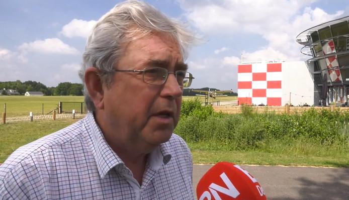 Directeur Jan Voeten van Breda International Airport.