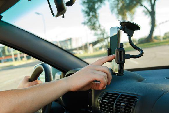 Smartphone auto houder