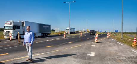 Deel een van megaproject N629 afgerond: 'Geen champagne, wel een open weg'